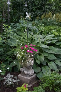 hosta and art