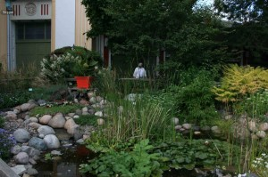 Take a break in the soothing MSHS garden at the Minnesota State Fair.