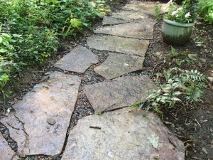 Adding or renewing paths is a great way to update a garden. (Photo courtesy of Martin Stern)
