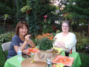 Members of the Shoreview Garden Club enjoy touring other gardens as part of the club's activities.