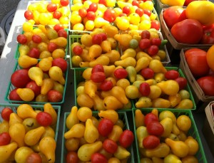 Whether from a farmers' market or your garden, tomatoes are plentiful  now.