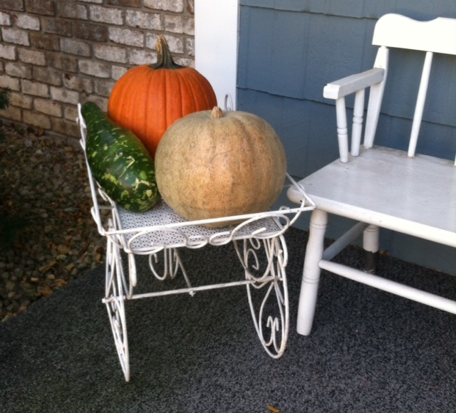 gourds on cart