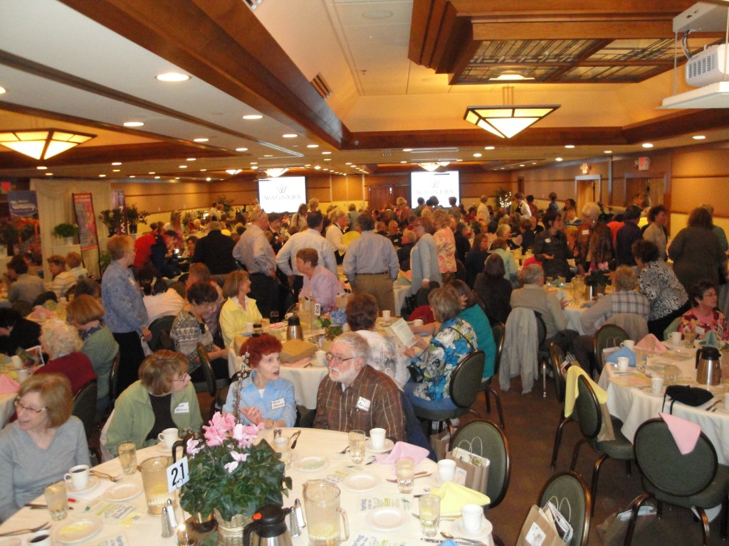 The MSHS Garden Gala attracts big crowds of plant lovers.