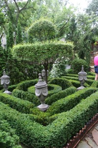 Cool, but not cottage. This beautiful formal planting enhanced a very formal Minneapolis home.