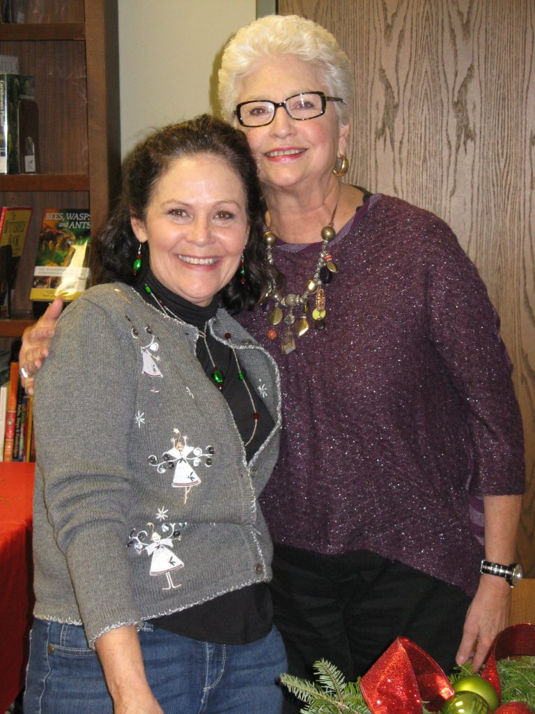 Anne and Rose, two of our wonderful volunteers