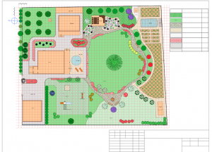 A garden plan would be a great holiday gift for a gardening friend.