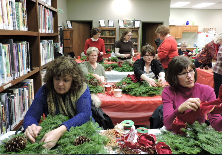 Let the crafty fun begin! Join us for one of two Gardening Gals-Get Togethers.
