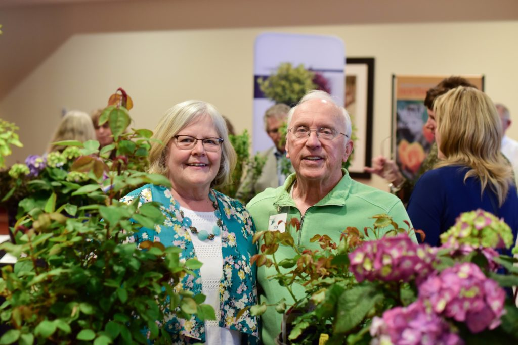 Retiring mshs ceo rose eggert and volunteer