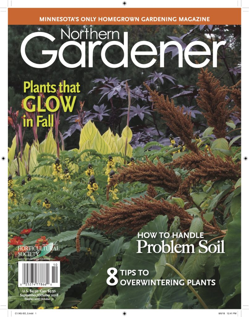 Northern Gardener September october 2018