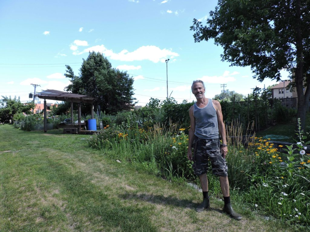 stevens square community garden leader