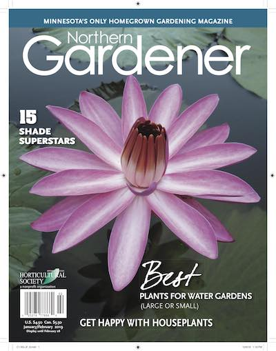 January februay Northern Gardener cover