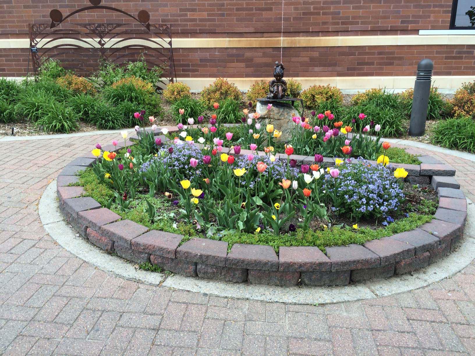Bemidji Garden Club project garden