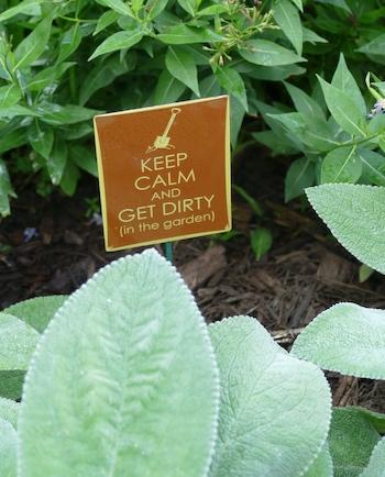 sign garden accessory