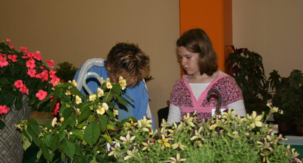 plant show entrant