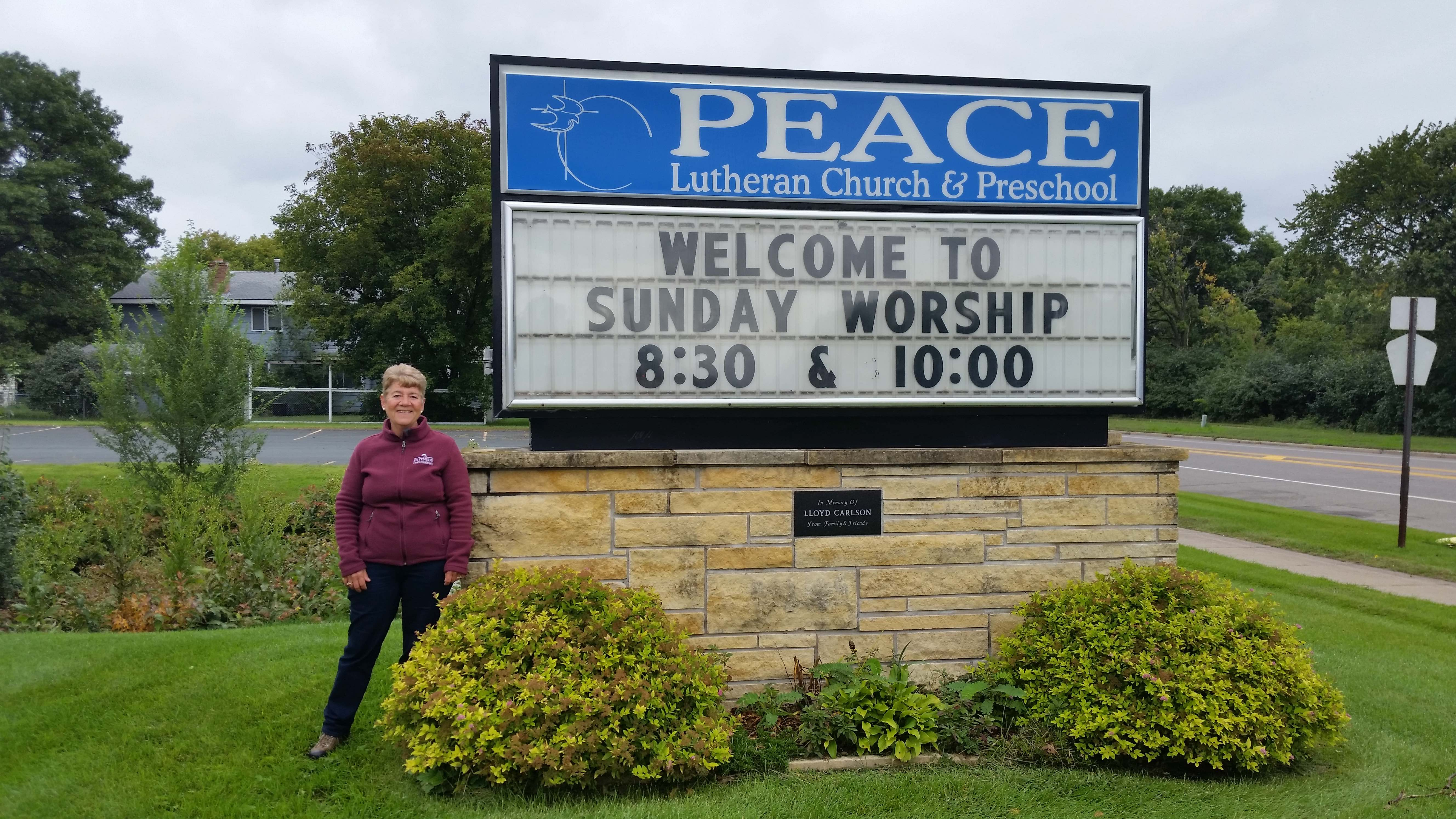peace church volunteer