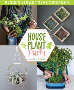 houseplant party book cover