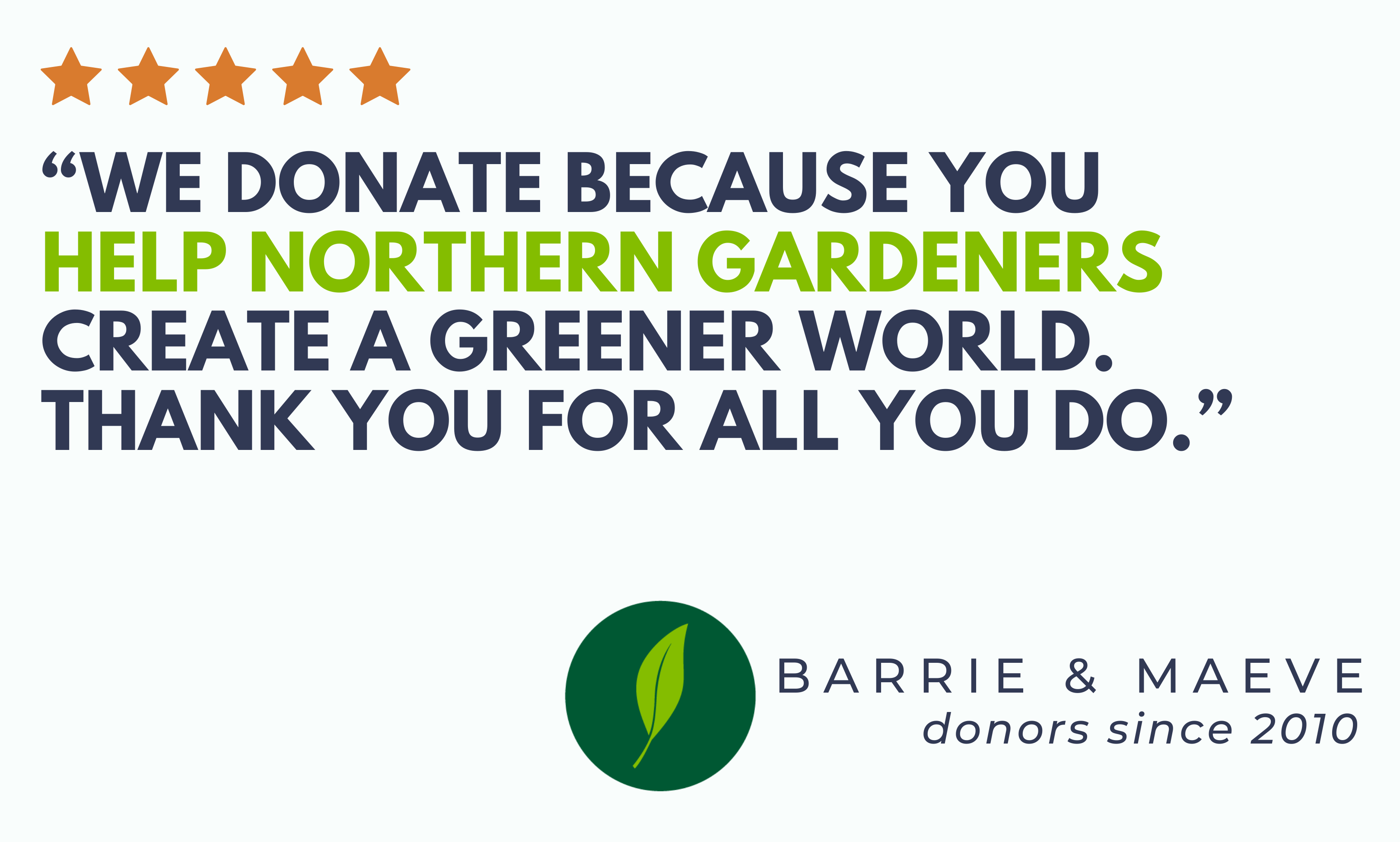barrie donor testimonial