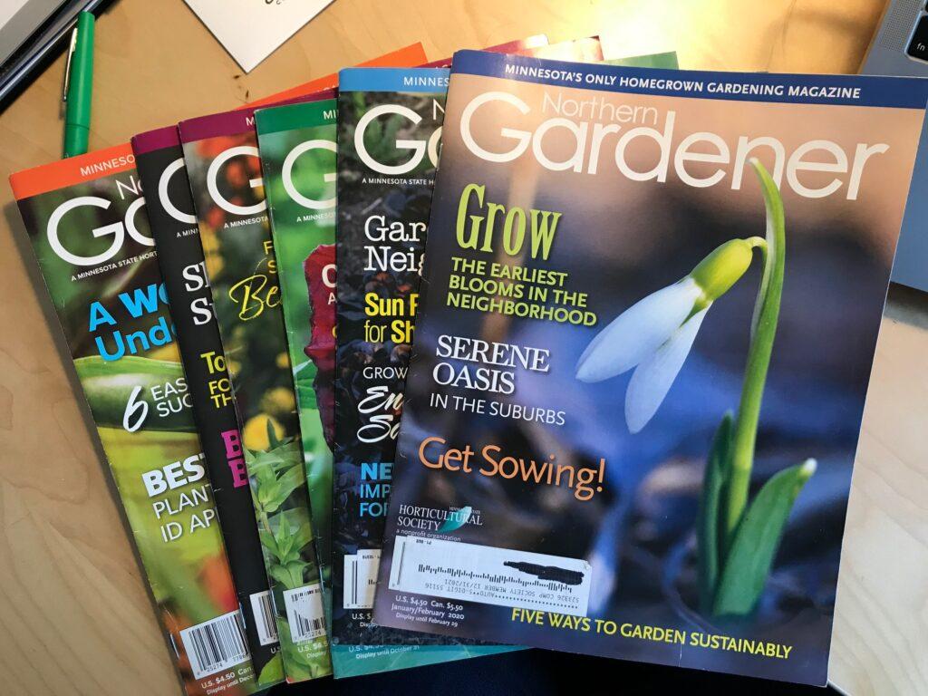 6 issues of Northern Gardener magazine