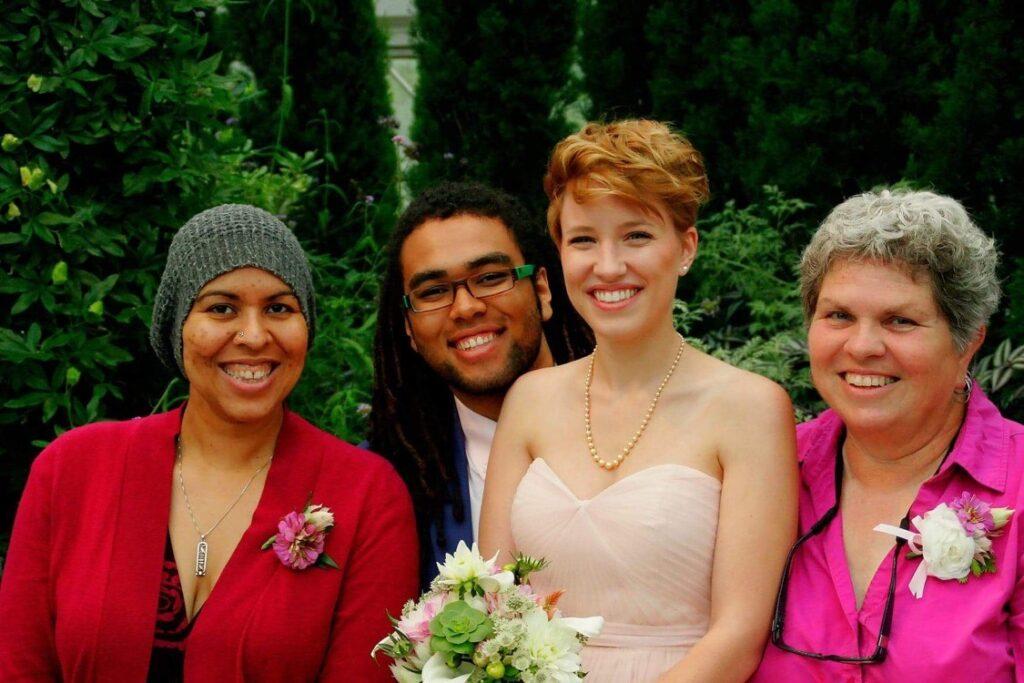Max Twum wedding picture