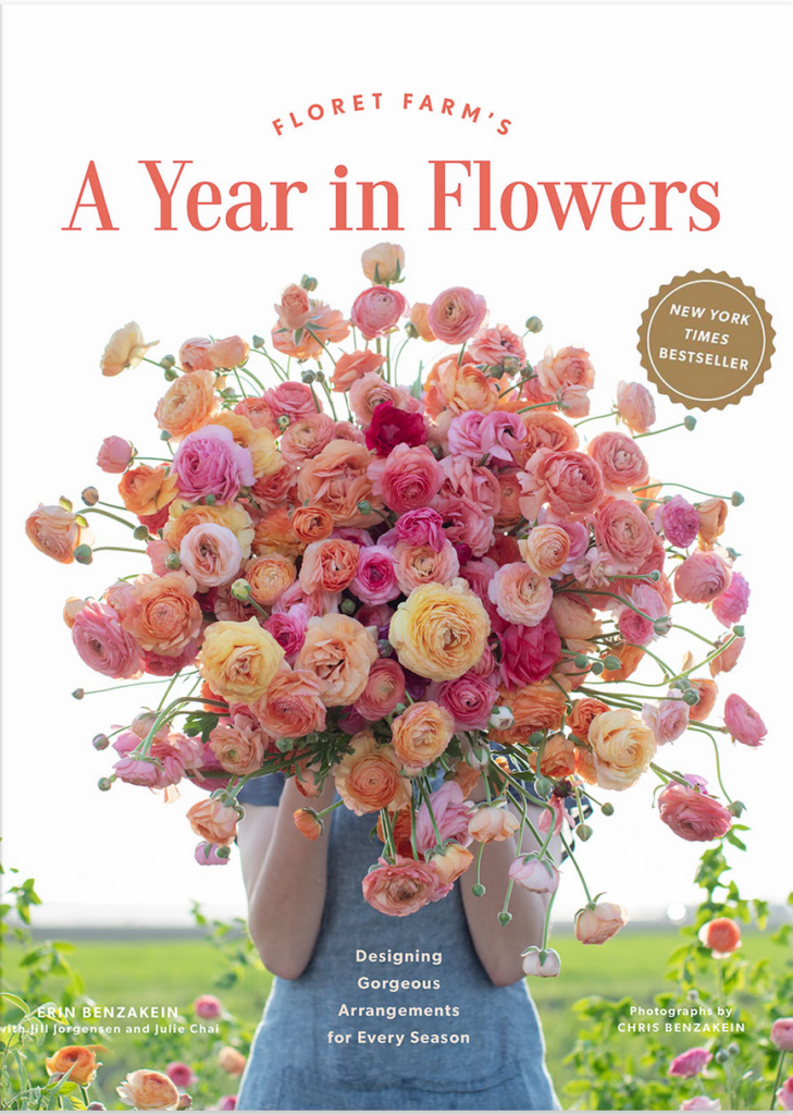 a year in flowers cover