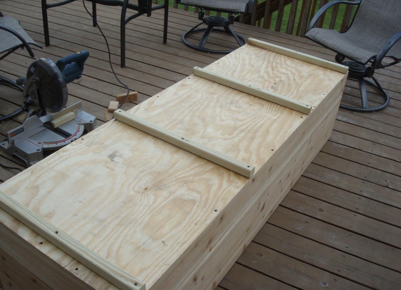 upside down raised bed garden box