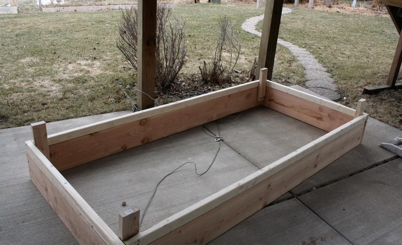basic raised garden bed