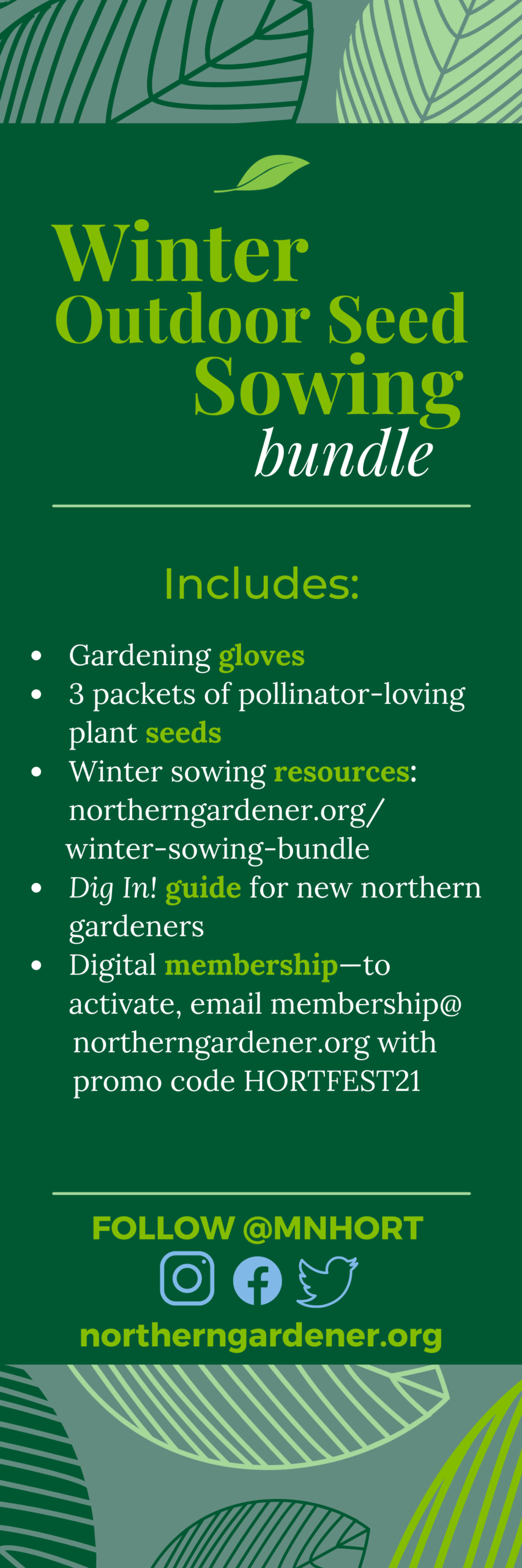 winter sowing gift bundle